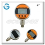 Precision Digital Pressure Gauges 4 Inch Stainless Steel with Bottom Connec