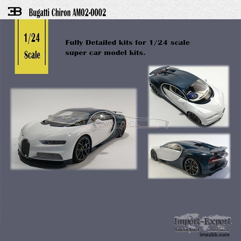1/24 Bugatti Chiron Full Resin Model Kit(AM02-0002)
