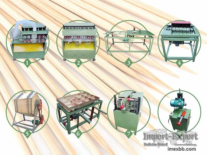 Wooden Toothpick Production Line