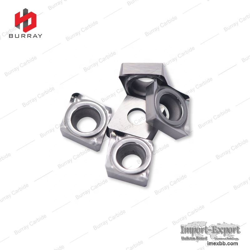 Tungsten Carbide Flute Indexable Cutting Inserts for Aluminium
