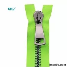 #15 #20 #30 Black Nickel Heavy Duty Metal Zippers