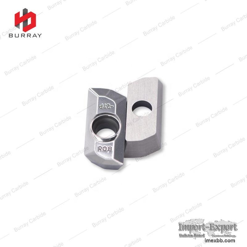 Custom XDHT190408FR Milling Inserts Processing for Aluminum