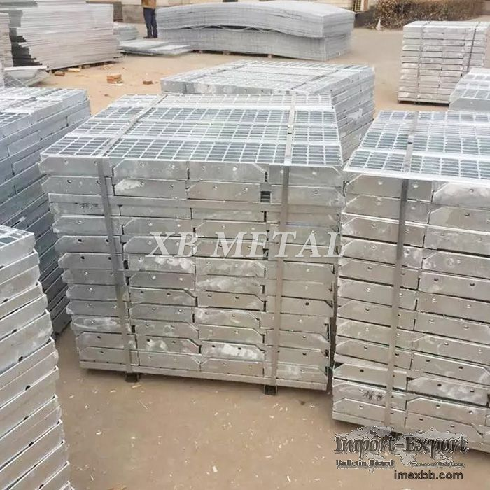 Metal Building Materials Galvanized Steel Bar Grating Walkway Price For Con