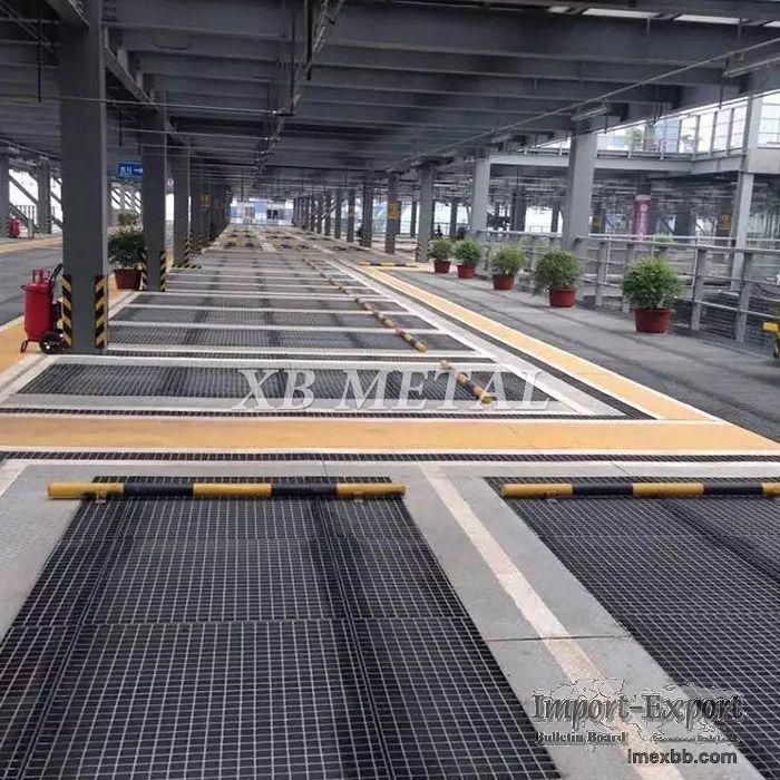 Factory Standard Galvanized Flat Carbon Steel Bar Grid Grating For Walkway