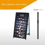 Double Sided Light Box - A Frame Floor Standing