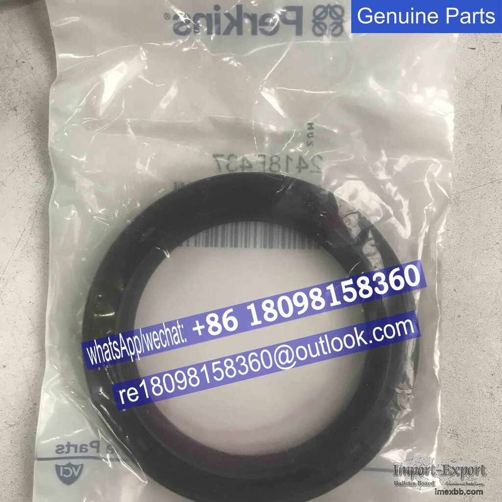 Genuine Perkins Rear End oil seal  2418F437 2418F436  for 1104 engine parts