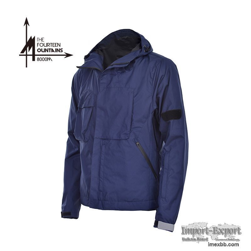 Men's Stylish Outdoor Tactical Cycling Hooded Jacket
