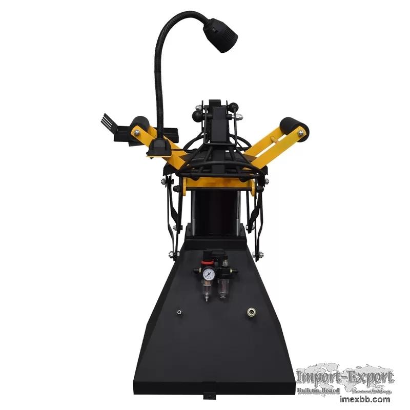 Pneumatic Car Tire Repair Tool 51kg Air Tire Spreader With Light