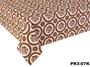 Oilcloth Vinyl Flocking Tablecloth 0.22mm Thick 20m ROll Anti Static