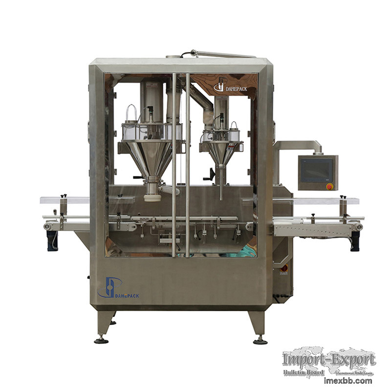 Automatic Coffee Milk Powder Filling Machine