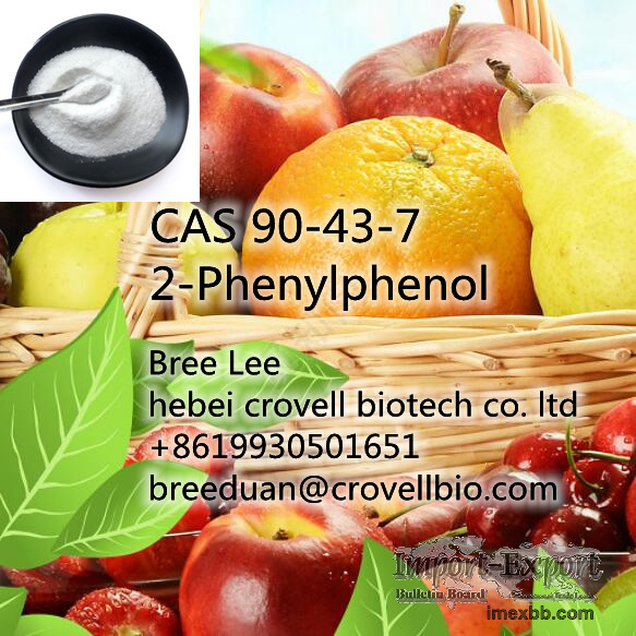 Supply CAS 90-43-7 2-Phenylphenol for antistaling agent +86 19930501651