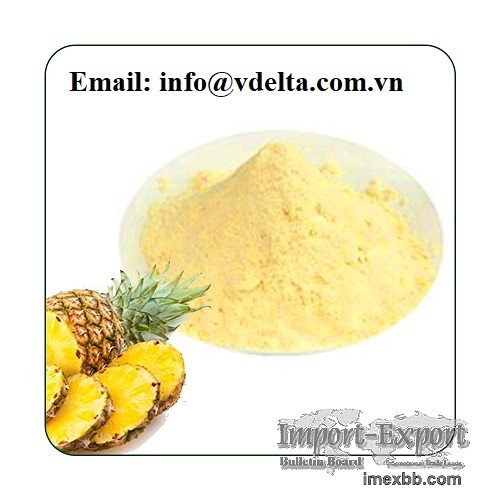 Organic Pineapple Juice Powder Bulk Supplier
