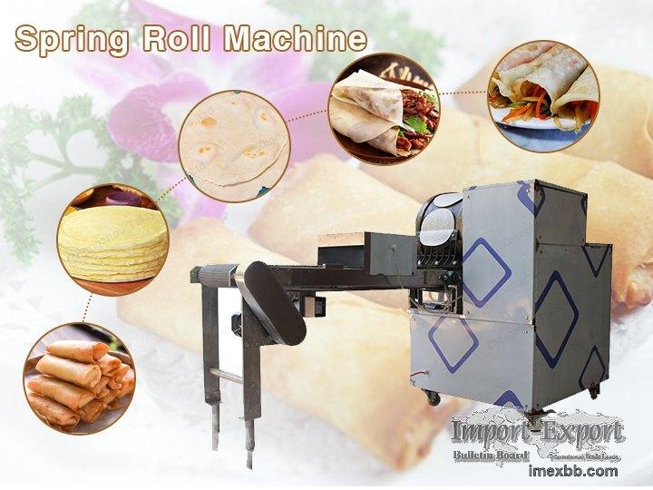 Spring Roll Machine  Pancake Maker  Chapatti Making Machine