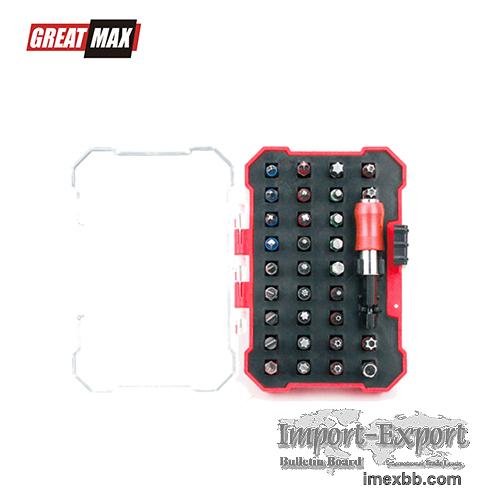 GM-B6108-1 32pc Quick Release & Bits Household repair tool set Screwdriver