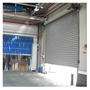 12m Remote Control Steel Roller Shutter Door 1.2mm Slat 11 Level Wind Resis