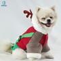 Christmas pet hoddie autumn winter warm dog cat luxury clothing